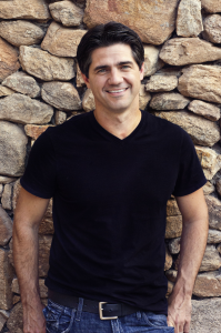 Joshua Becker smiling while wearing a black t-shirt