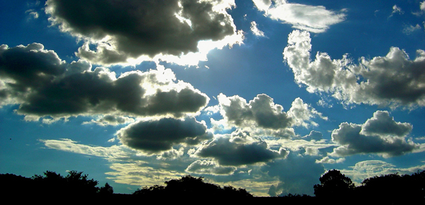Clouds in the sky - how to find your passion