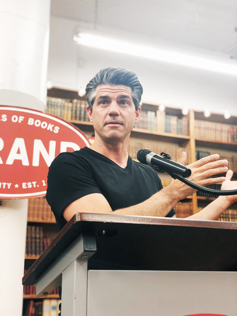 Joshua Becker at Strand Books